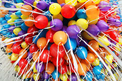 Lotes dos balões Fotos de Stock Royalty Free