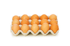 Lotes dos ovos Foto de Stock Royalty Free