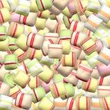 Lotes e lotes dos doces Foto de Stock