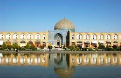 Lotfollah Mosque回教族长在伊斯法罕,伊朗 免版税库存照片