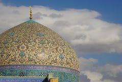 Lotfollah Mosque回教族长在Naghsh-e Jahan广场,伊斯法罕,伊朗 库存照片