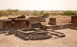 Lothal 4. THis site was excavated in1954 near Ahmadabad city of Gujrat (India)..This civilization betn 2400 to 1900 B.C