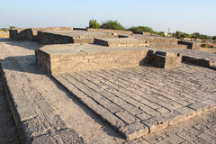 Lothal Indus Valley. Lothal/Indus valley is considered as oldest civilization of world.From the evidance the experts determine they had finest town planning even Royalty Free Stock Photo
