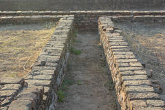 Lothal Indus Valley. Lothal/Indus valley is considered as oldest civilization of world.From the evidance the experts determine they had finest town planning even Royalty Free Stock Photos