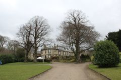 Lotherton Hall building and gardens. In Aberford, Yorkshire, England, UK Stock Images
