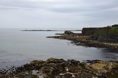 Lothian Coast. Seacoast in Lothian - region in south Scotland Stock Photography