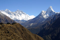 lothse everest dablam ama Стоковое фото RF