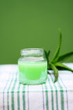 Lotion Aloe Vera Stock Photo