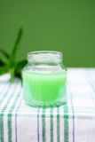 Lotion Aloe Vera Royalty Free Stock Image