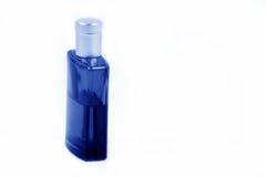 Lotion après-rasage bleue Image libre de droits