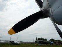Lotnictw śmigieł parowozowy avia zdjęcia royalty free