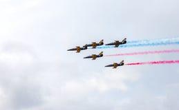 Lotnictw aerobatics drużyna Obrazy Stock