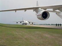 lotnictwo cywilne wojsko Obrazy Stock