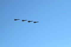 Lotnictwo Militarna siły powietrzne Rosja Obraz Royalty Free
