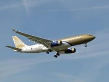 lotnicza A330 zatoka Airbus Zdjęcie Stock