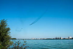 Lotnicza bitwa Zdjęcia Stock