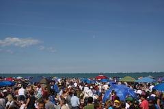 lotnicza Chicago przedstawienie woda Obrazy Royalty Free