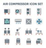 Lotnicza conditioner ikona ilustracji