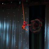 Lotnicza gimnastyczka zdjęcie royalty free