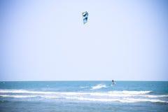 Lotnicza kipiel wodnego sporta aktywność fotografia stock