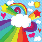lotnicza miłość Obrazy Stock