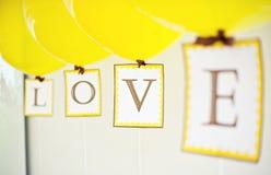 lotnicza miłość Zdjęcie Royalty Free