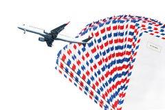 Lotnicza poczta Obraz Stock