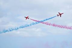 lotnicza strzała pokazu siły czerwień królewska Zdjęcie Royalty Free
