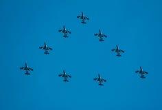 Lotnicza wystawa w Włochy Zdjęcia Royalty Free