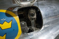 Lotnicza wywiadowcza kamera Obraz Royalty Free