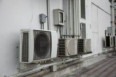 Lotnicze conditioners kondensatoru jednostki fotografia stock