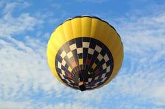 lotniczego balonu błękitny bsckground gorący niebo Fotografia Royalty Free