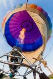 lotniczego balonu błękitny kolorowy gorący niebo Obrazy Stock