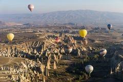 lotniczego balonu cappadocia target3012_1_ gorący nadmiernego Obrazy Stock