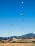 lotniczego balonu festiwal gorący Obrazy Royalty Free