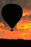 lotniczego balonu gorący niebo Zdjęcie Royalty Free