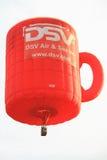 lotniczego balonu kawowy gorący kubek zdjęcie royalty free