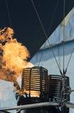 lotniczego balonu palnik gorący Zdjęcie Stock