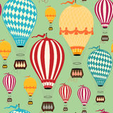 Lotniczego balonu wzór Obraz Royalty Free