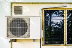 Lotniczego kompresoru okno wentylacje Fotografia Royalty Free