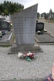 Lotniczego lingus viscount trzaska skały 1968 co Wexford tuskar pomnik Zdjęcie Royalty Free
