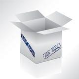lotniczego pudełka poczta foka ilustracji