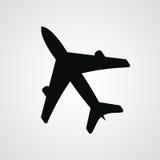 Lotniczego samolotu ikona Obrazy Stock