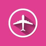 Lotniczego samolotu latanie Obrazy Stock