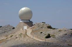 lotniczego zarządzania radarowy ruch drogowy Zdjęcie Royalty Free