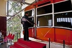 lotniczej bramy piekła s tramwaj Obraz Royalty Free