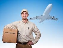 lotniczej dostawy post Obraz Stock