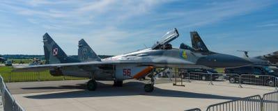 Lotniczej lepszości wojownik, multirole wojownik Mikoyan MiG-29 Zdjęcia Royalty Free