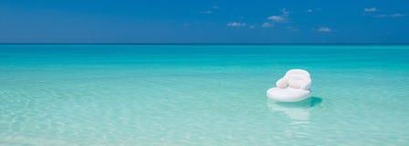 lotniczej materac ocean zdjęcia royalty free