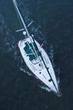 lotniczy żaglówki morza widok Zdjęcie Royalty Free